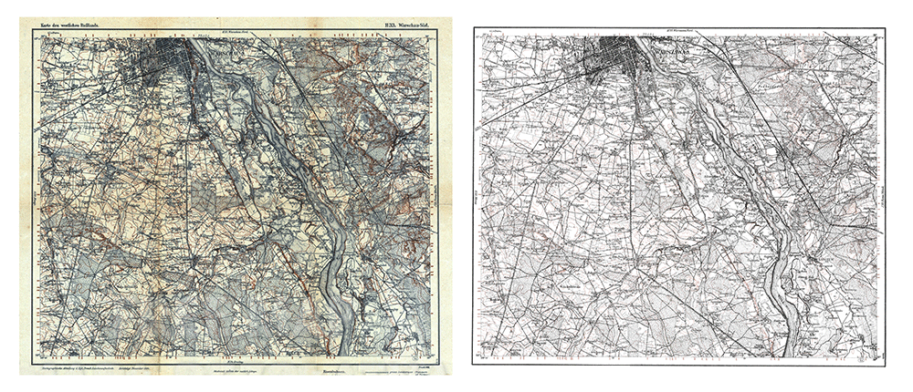 see how mapstor team recoveres old maps