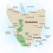 Tasmania Island was discovered