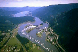 Columbia River was discovered