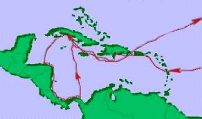 4th expedition of Columbus