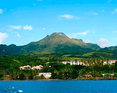 island of Martinique