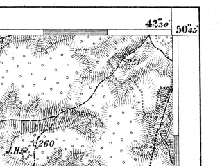 Reduced fragment of topographic map de--aut--075k--03-31--(1894)--N050-45_fE042-00--N050-30_fE042-30; towns and cities Gorokhov, Ivanichi, Lokachi, Luchitsy, Pavlovka