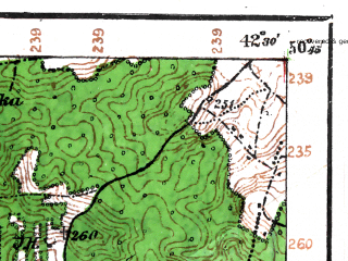 Reduced fragment of topographic map de--aut--075k--03-31--(1916)--N050-45_fE042-00--N050-30_fE042-30; towns and cities Gorokhov, Ivanichi, Skobelka, Stenyatyn, Zavidov