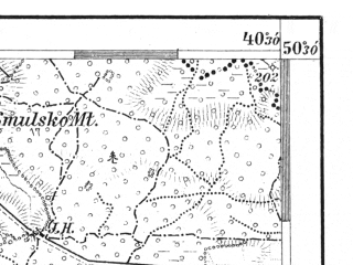 Reduced fragment of topographic map de--aut--075k--04-27--(1913)--N050-30_fE040-00--N050-15_fE040-30; towns and cities Lezajsk, Tarnogrod