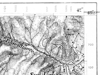Reduced fragment of topographic map de--aut--075k--13-30--(1876)--N048-15_fE041-30--N048-00_fE042-00; towns and cities Rakhov, Dubovoye, Kosovskaya Polyana, Kostylevka, Krasna
