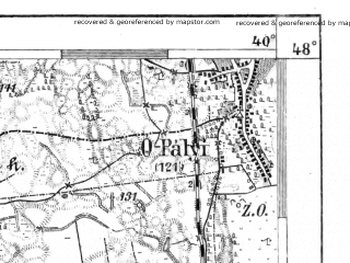 Reduced fragment of topographic map de--aut--075k--14-26--(1913)--N048-00_fE039-30--N047-45_fE040-00; towns and cities Nateszalka, Nagykallo
