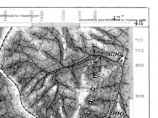Reduced fragment of topographic map de--aut--075k--14-30--(1877)--N048-00_fE041-30--N047-45_fE042-00; towns and cities Sighetul Marmatiei, Solotvina, Velikiy Bychkov, Belaya Tserkov', Delovoye