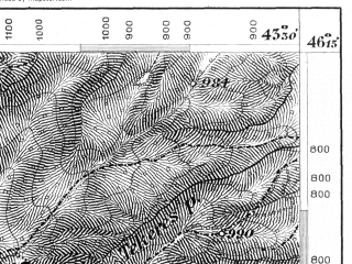 Reduced fragment of topographic map de--aut--075k--21-33--(1875)--N046-15_fE043-00--N046-00_fE043-30