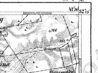 Reduced fragment of topographic map de--aut--075k--d-29--(1911)--N052-15_fE041-00--N052-00_fE041-30; towns and cities Brest, Terespol