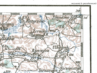 Reduced fragment of topographic map de--aut--200k--41-50--(1918)--N050-30_fE040-30--N049-30_fE041-30; towns and cities Sambor, Tomaszow Lubelski, Yavorov, Gorodok, Mostiska