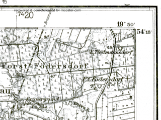 Reduced fragment of topographic map de--kdr--100k--101--(1937)--N054-15_fE037-00--N054-00_fE037-30; towns and cities Elblag, Paslek
