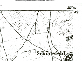 Reduced fragment of topographic map de--kdr--100k--340--(1893)--N052-00_fE030-00--N051-45_fE030-30; towns and cities Wittenberg