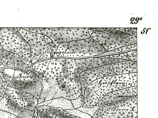Reduced fragment of topographic map de--kdr--100k--412--(1893)--N051-15_fE028-30--N051-00_fE029-00; towns and cities Sommerda