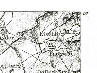 Reduced fragment of topographic map de--kdr--100k--439--(1893)--N051-00_fE029-00--N050-45_fE029-30; towns and cities Jena