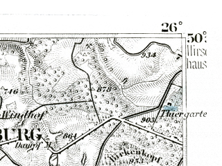 Reduced fragment of topographic map de--kdr--100k--484--(1893)--N050-30_fE025-30--N050-15_fE026-00; towns and cities Limburg An Der Lahn