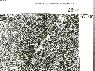 Reduced fragment of topographic map de--kdr--100k--672--(1898)--N047-30_fE028-30--N047-15_fE029-00; towns and cities Garmisch-partenkirchen, Seefeld