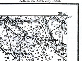Reduced fragment of topographic map de--kdr--100k--C30--(1897)--N053-00_fE036-00--N052-45_fE036-30; towns and cities Aleksandrow Kujawski, Ciechocinek