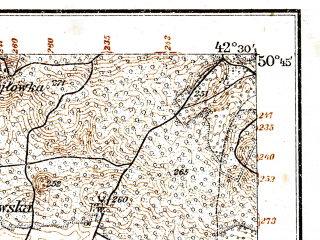 Reduced fragment of topographic map de--kdr--100k--P39--(1915)--N050-45_fE042-00--N050-30_fE042-30; towns and cities Ivanichi, Gorokhov, Lokachi, Luchitsy, Pavlovka