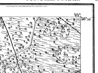 Reduced fragment of topographic map de--kdr--100k--S16--(1914)--N056-30_fE043-30--N056-15_fE044-00; towns and cities Jekabpils, Livany