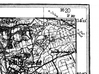 Reduced fragment of topographic map de--kdr4--100k--017--(1939)--N054-15_E008-20--N053-45_E009-20 in area of Meldorfer Bucht; towns and cities Cuxhaven, Heide, Busum, Otterndorf, Altenwalde