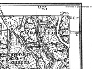 Reduced fragment of topographic map de--kdr4--100k--027--(1933)--N054-15_E018-20--N053-45_E019-20; towns and cities Tczew, Starogard Gdanski, Malbork, Sztum, Gniew