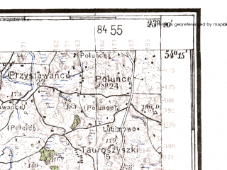 Reduced fragment of topographic map de--kdr4--100k--030b--(1941)--N054-15_E022-20--N053-45_E023-20; towns and cities Augustow, Elk, Suwalki, Olecko, Raczki