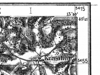Reduced fragment of topographic map de--kdr4--100k--143--(1937)--N049-15_E013-20--N048-45_E014-20; towns and cities Prachatice, Strakonice