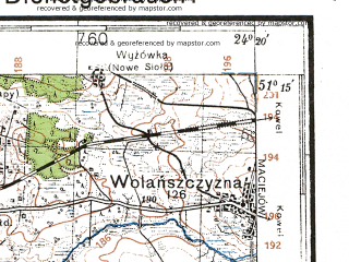 Reduced fragment of topographic map de--kdr4--100k--377--(1941)--N051-15_E023-20--N050-45_E024-20; towns and cities Chelm, Vladimir-volynskiy, Hrubieszow, Lyuboml', Stavki