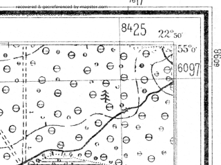 Reduced fragment of topographic map de--mb--025k--10_102--(1940)--N055-00_E022-40--N054-54_E022-50
