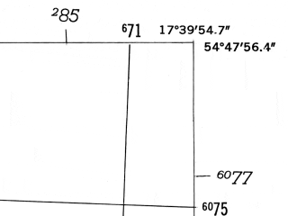 Reduced fragment of topographic map de--mb--025k--12_071-ams--(1952)--N054-48_E017-30--N054-42_E017-40; towns and cities Leba