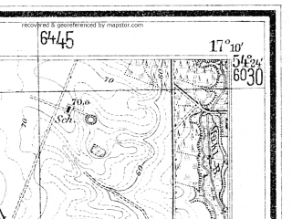 Reduced fragment of topographic map de--mb--025k--16_068--(1938)--N054-24_E017-00--N054-18_E017-10