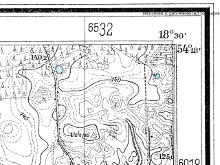 Reduced fragment of topographic map de--mb--025k--17_076--(1925)--N054-18_E018-20--N054-12_E018-30
