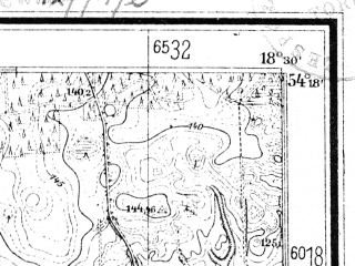 Reduced fragment of topographic map de--mb--025k--17_076--(1942)--N054-18_E018-20--N054-12_E018-30