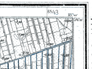 Reduced fragment of topographic map de--mb--025k--17_077--(1928)--N054-18_E018-30--N054-12_E018-40; towns and cities Pruszcz Gdanski