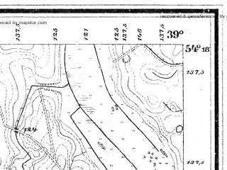 Reduced fragment of topographic map de--mb--025k--17_093--(1897)--N054-18_E021-10--N054-12_E021-20; towns and cities Skandawa