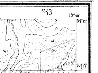 Reduced fragment of topographic map de--mb--025k--18_077--(1940)--N054-12_E018-30--N054-06_E018-40