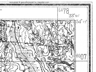 Reduced fragment of topographic map de--mb--025k--18_107--(1940)--N054-12_E023-30--N054-06_E023-40
