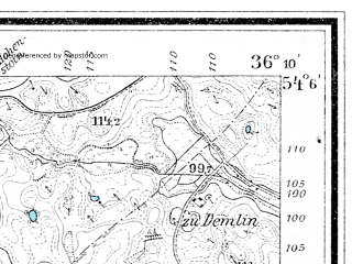 Reduced fragment of topographic map de--mb--025k--19_076--(1910)--N054-06_E018-20--N054-00_E018-30; towns and cities Skarszewy