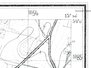 Reduced fragment of topographic map de--mb--025k--20_060--(1936)--N054-00_E015-40--N053-54_E015-50