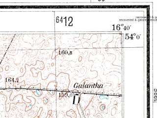 Reduced fragment of topographic map de--mb--025k--20_065--(1937)--N054-00_E016-30--N053-54_E016-40; towns and cities Bobolice