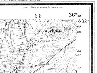 Reduced fragment of topographic map de--mb--025k--20_077--(1910)--N054-00_E018-30--N053-54_E018-40; towns and cities Starogard Gdanski