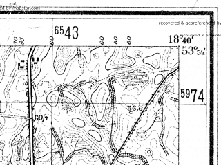 Reduced fragment of topographic map de--mb--025k--21_077--(1941)--N053-54_E018-30--N053-48_E018-40