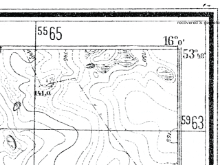 Reduced fragment of topographic map de--mb--025k--22_061--(1938)--N053-48_E015-50--N053-42_E016-00