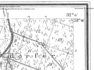 Reduced fragment of topographic map de--mb--025k--23_051--(1946)--N053-42_E014-10--N053-36_E014-20