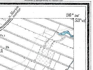 Reduced fragment of topographic map de--mb--025k--23_078--(1909)--N053-42_E018-40--N053-36_E018-50; towns and cities Nowe