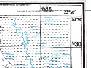 Reduced fragment of topographic map de--mb--025k--25_099--(1944)--N053-30_E022-10--N053-24_E022-20