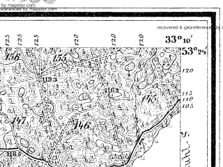 Reduced fragment of topographic map de--mb--025k--26_058--(1892)--N053-24_E015-20--N053-18_E015-30