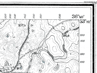 Reduced fragment of topographic map de--mb--025k--28_079--(1911)--N053-12_E018-50--N053-06_E019-00; towns and cities Kowalewo Pomorskie