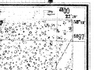 Reduced fragment of topographic map de--mb--025k--28_100--(1944)--N053-12_E022-20--N053-06_E022-30; towns and cities Wizna