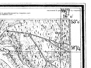 Reduced fragment of topographic map de--mb--025k--30_061--(1936)--N053-00_E015-50--N052-54_E016-00
